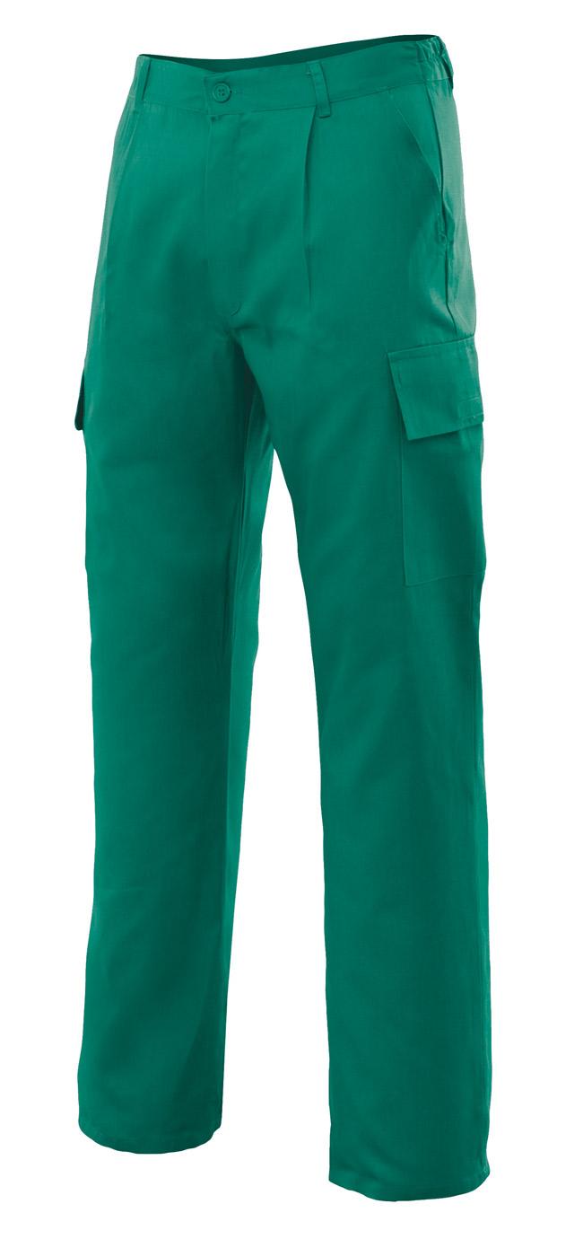 Pantalones de trabajo multibolsillos VEL316012