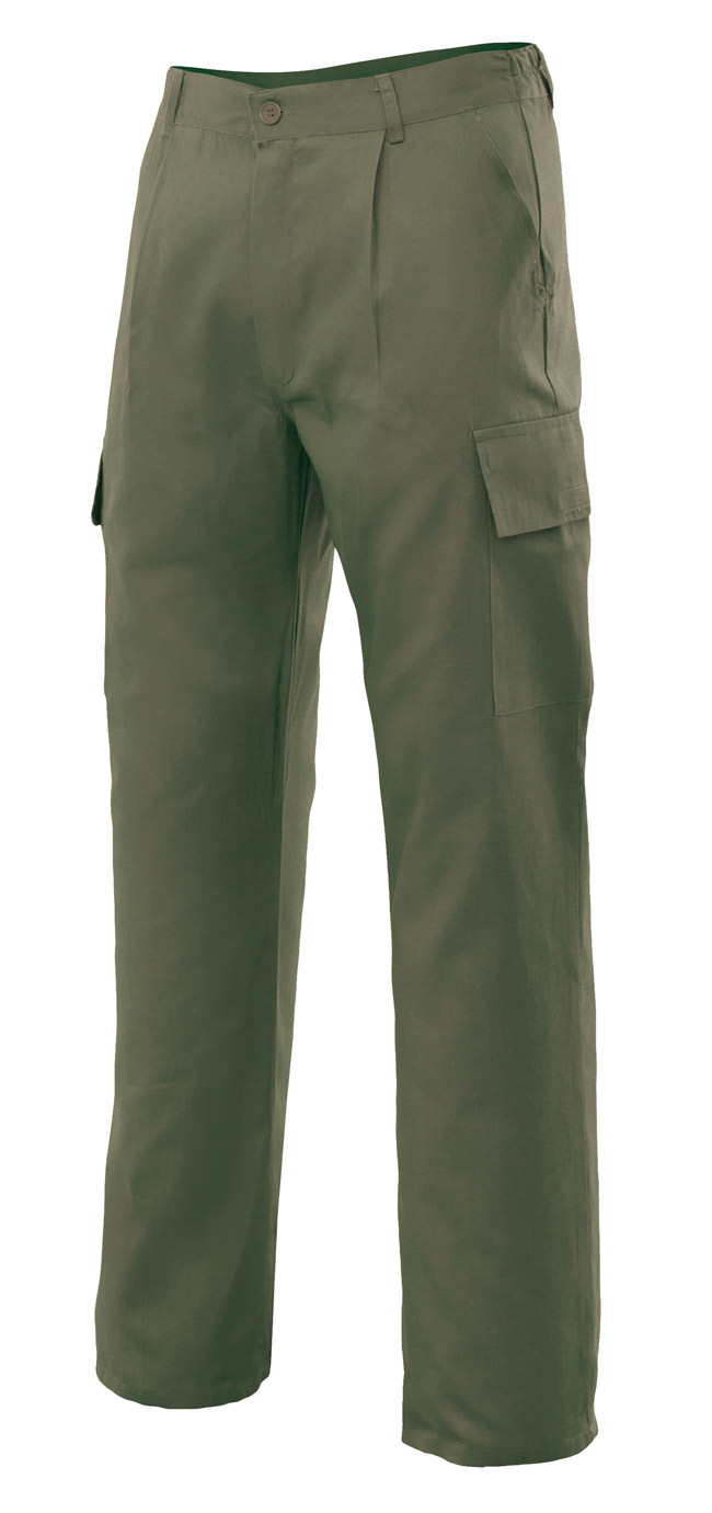 Pantalones de trabajo multibolsillos VEL316013
