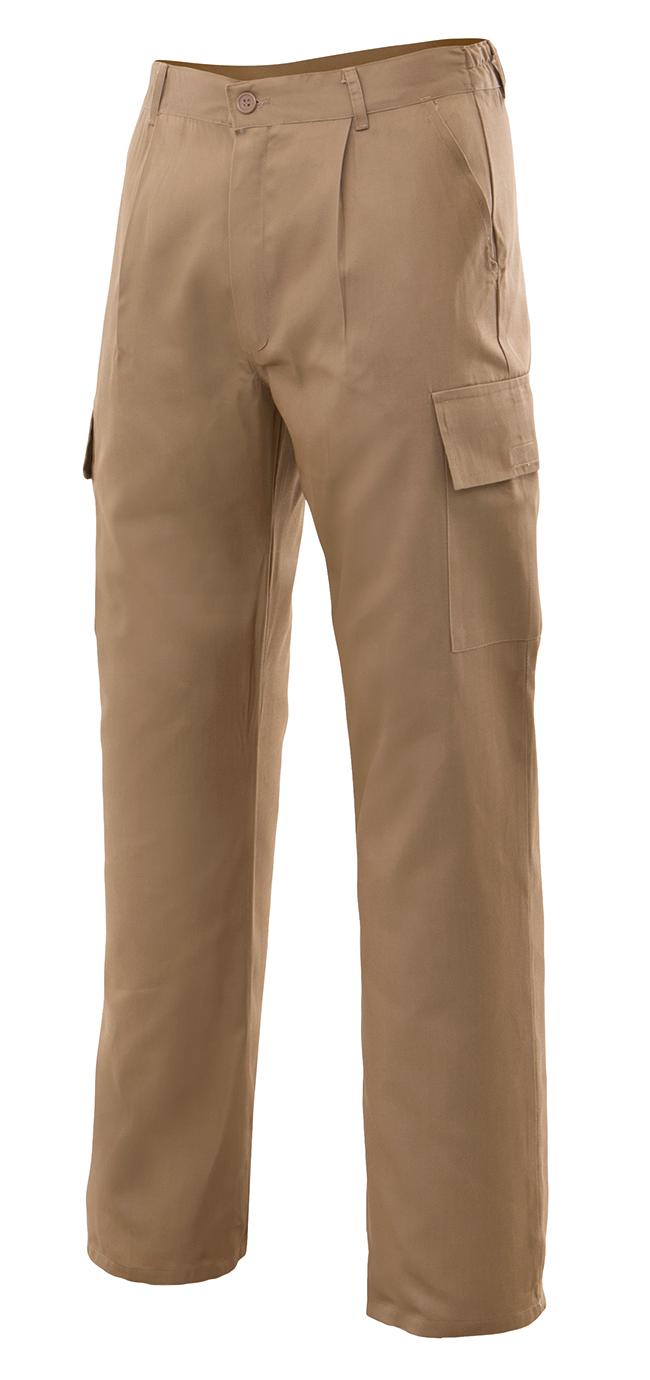 Pantalones de trabajo multibolsillos VEL316016