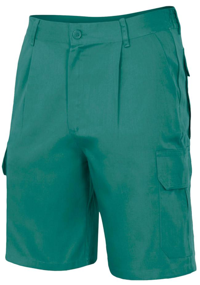 Pantalones de trabajo cortos Multibolsillos VEL3442