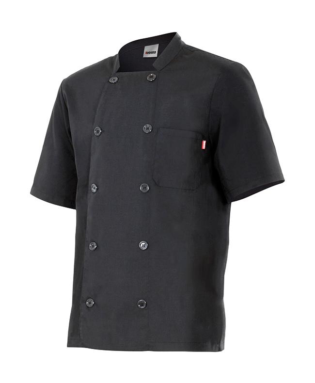Chaquetas de cocinero manga corta