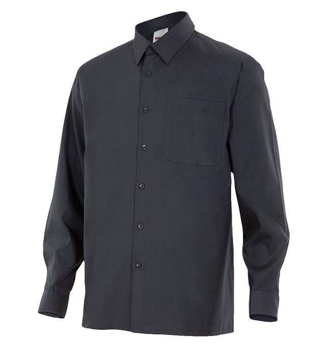 Camisa de trabajo manga larga