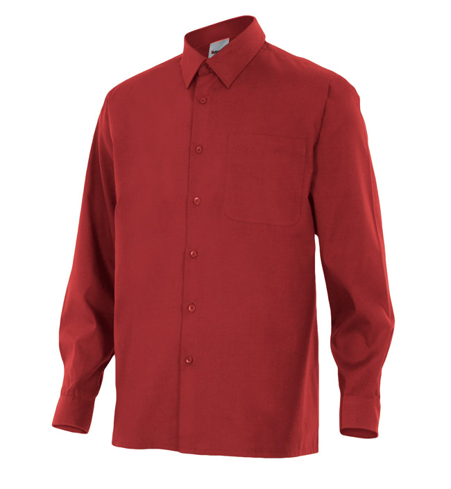 Camisa de trabajo manga larga VEL52918
