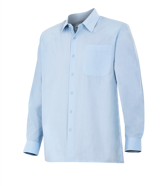Camisa de trabajo manga larga VEL5295