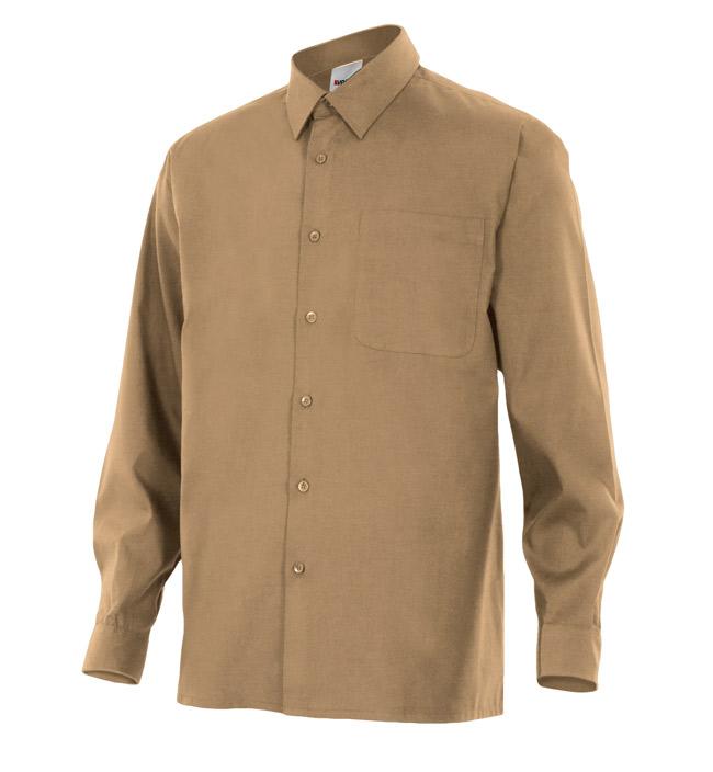 Camisa de trabajo manga larga VEL5296