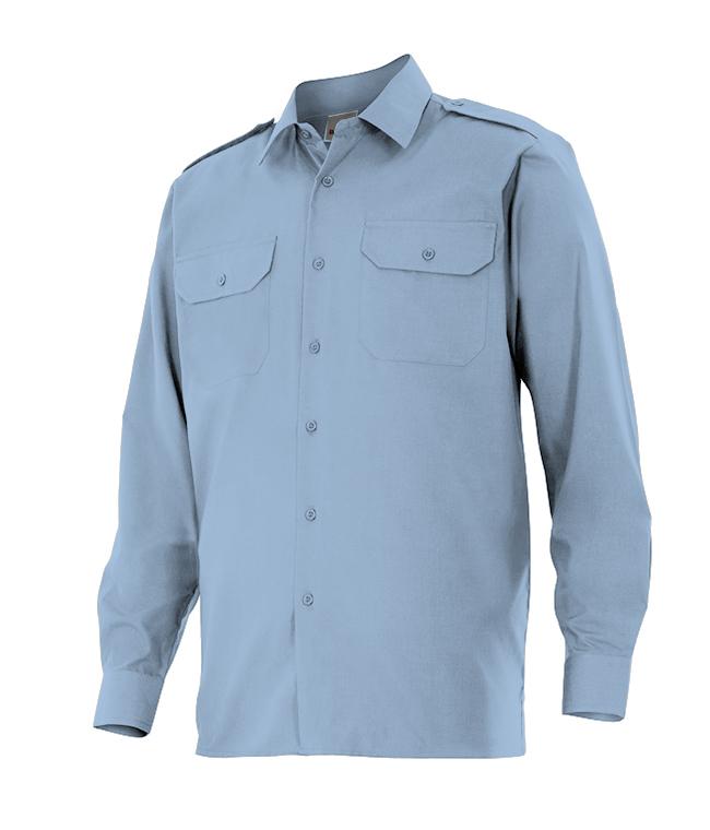 Camisa de trabajo azul y más colores